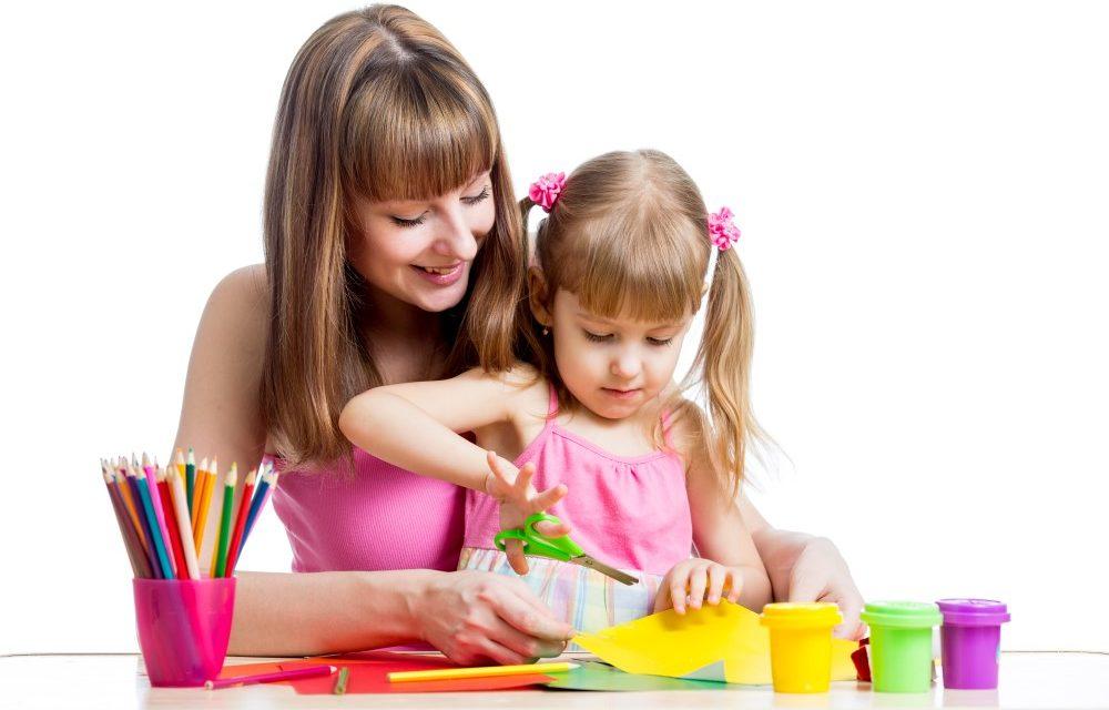 Sådan bliver du mere kreativ med børn