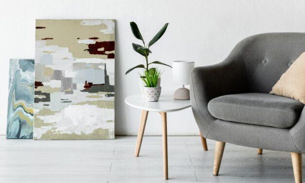 Sådan bruger du malerier til at opnå en kreativ og sjov boligindretning